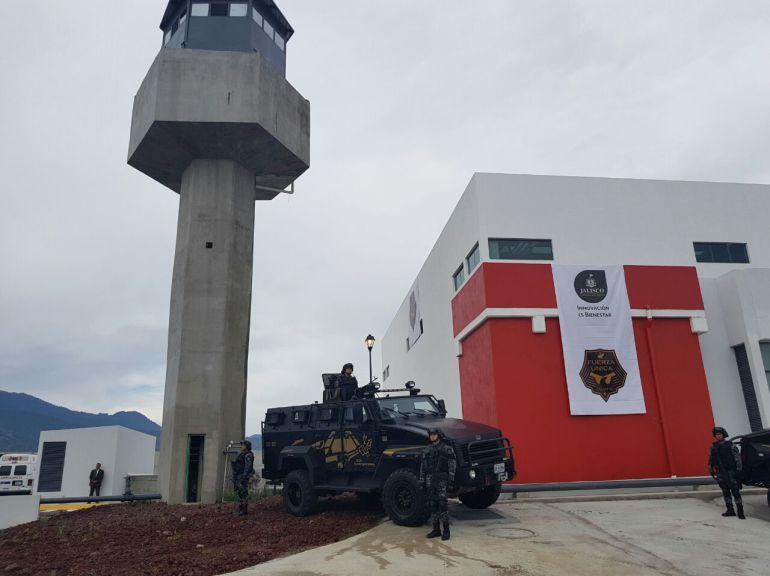 El cuartel que está ubicado en las cercanías del CEINJURE y los Juzgados de lo Criminal