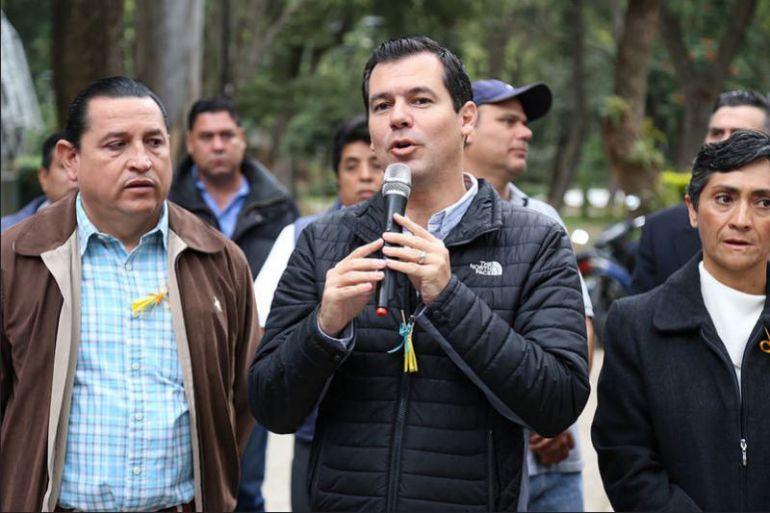 Niega Diego Monraz haber donado lámparas a otros municipios