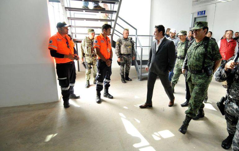 Actualmente se encuentran en construcción bases regionales en varios municipios
