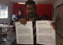 Acusa a Arreola Ponce de no dejar operar a los nuevos permisionarios