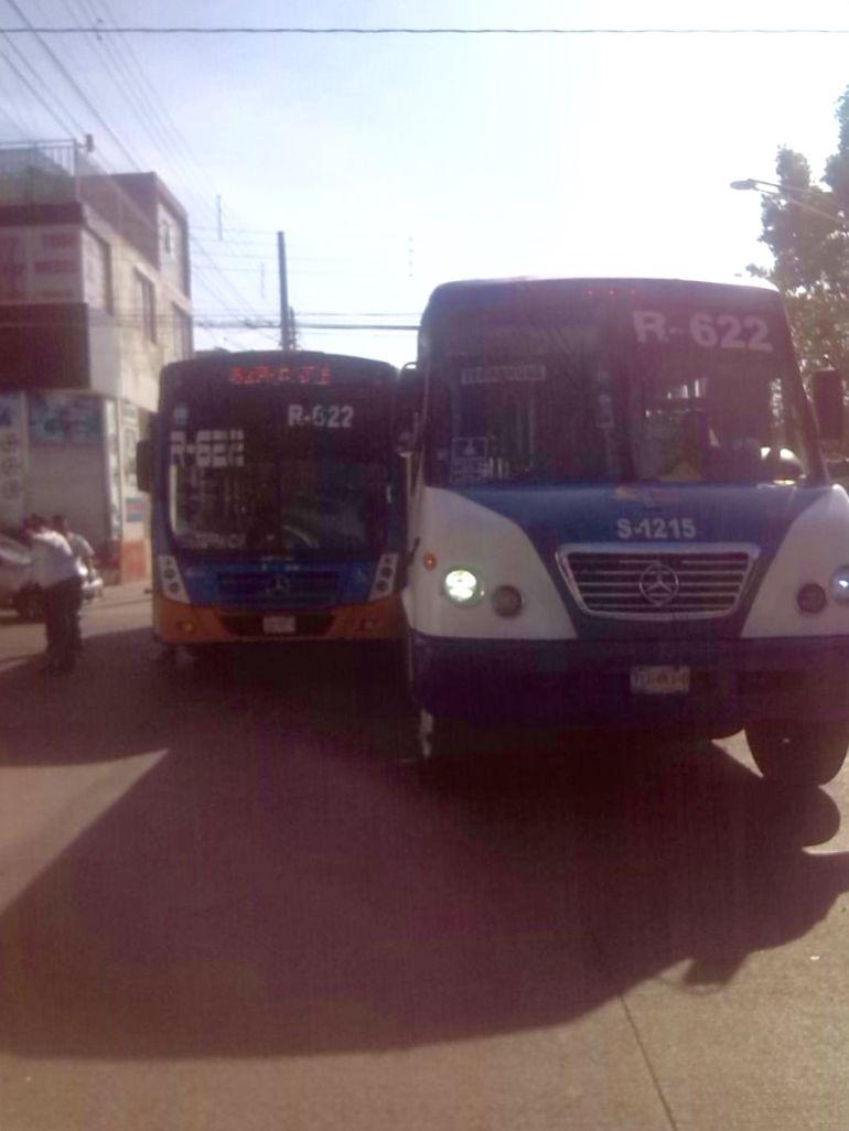 Pasajeros de ruta 622 han intentado intervenir en conflictos de permisionarios