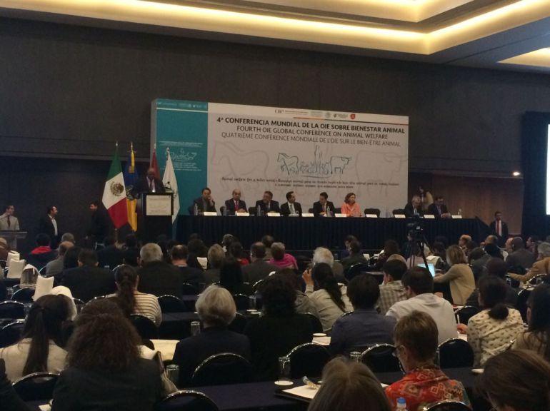 Se celebró la cuarta conferencia mundial de la OIE