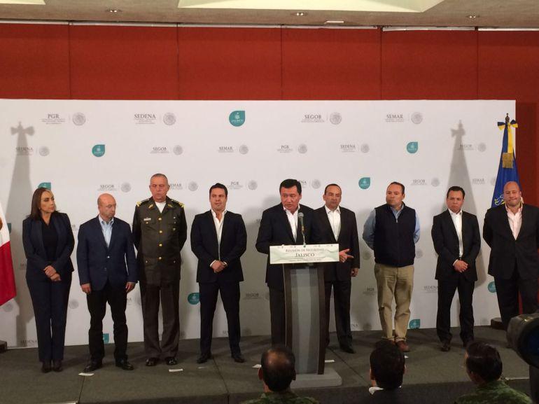 Asegura Osorio Chong que no quedará impune asesinato de militares en Villa Purificación