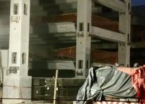 Derrumbe de edificio en contrucción deja ocho lesionados