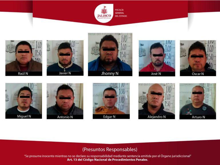 Detenidos con seis cadáveres pertenecen al CJNG