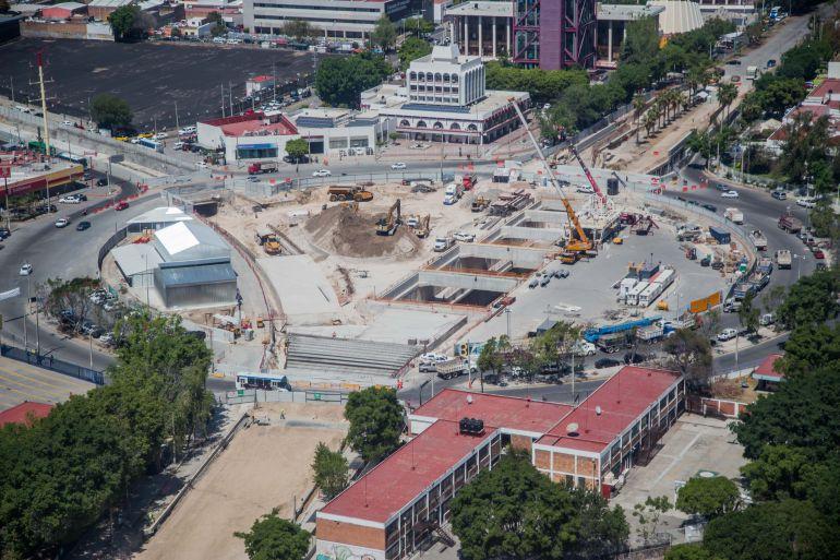 Las obras recorren los tres municipios de Zapopan, Guadalajara y Tlaquepaque