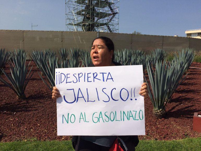 Las movilizaciones se concentran en La Minerva, frente a Palacio de Gobierno en el centro de Guadalajara, y en la autopista a Zapotlanejo