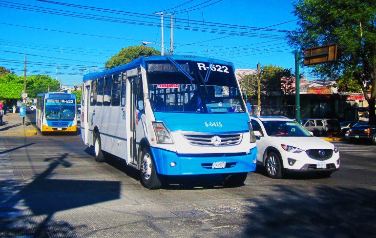 Pararán 45 rutas de transporte público en GDL; quieren aumentar la tarifa