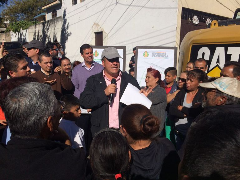 Inician obras en calles de Rancho Nuevo