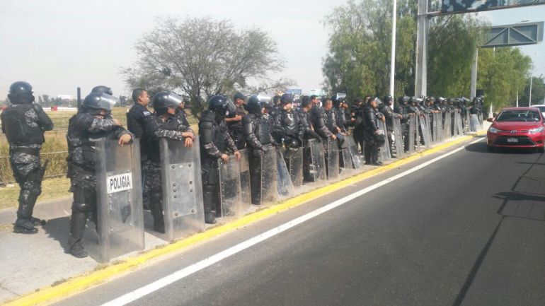 Policía Federal mantiene operativo en el Aeropuerto