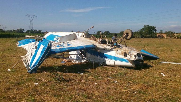 Se desploma avioneta en Puerto Vallarta