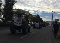 Saldo blanco tras la manifestación de ejidatarios de El Zapote