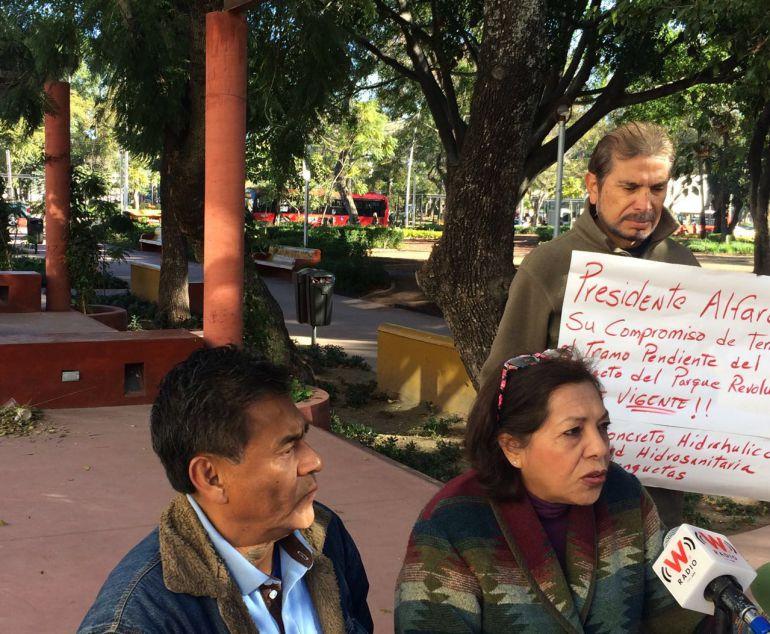 Vecinos del Parque Rojo pide a Guadalajara respete proyecto original de la obra