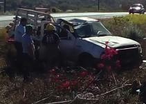 Volcadura en el Arenal deja 12 lesionados