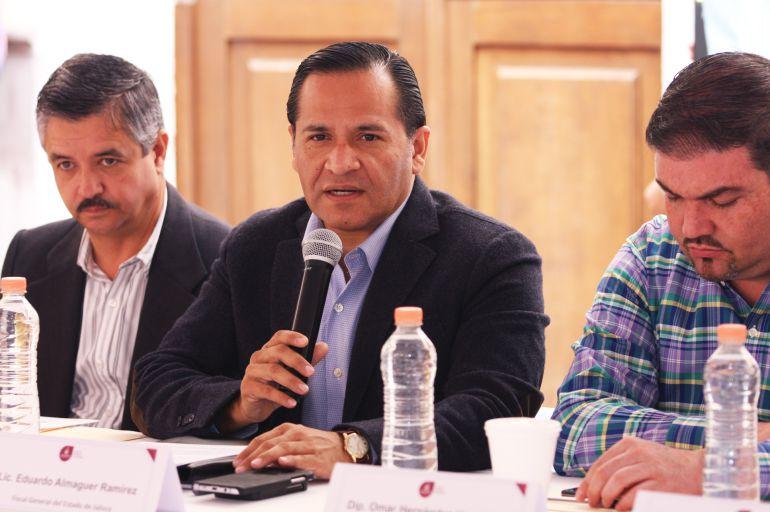 Almaguer se reunirá con alcaldes de Zapopan y Tlajomulco