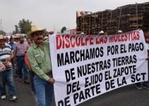 Habrá reunión entre ejidatarios de El Zapote y SCT; autoridades impiden manifestaciones