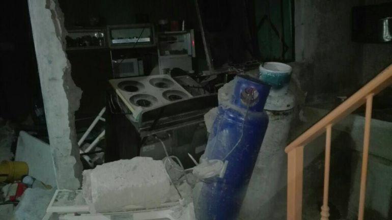 La explosión se debió a una fuga de gas