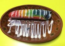 ¿Ya conoces el tamal del arcoiris?