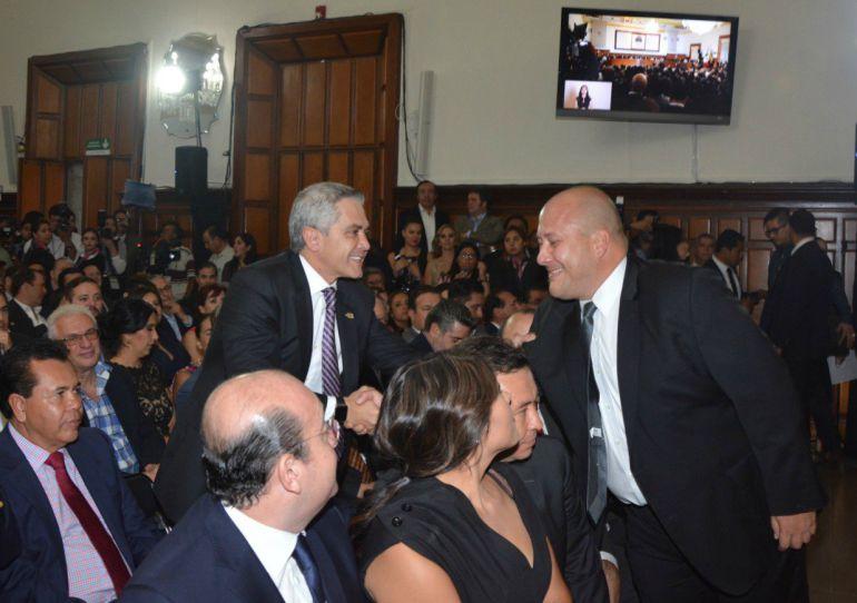 Habrá reunión entre Mancera y Alfaro
