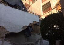 Denuncian vecinos de la Colonia Laffayette falta de acciones contra edificio irregular