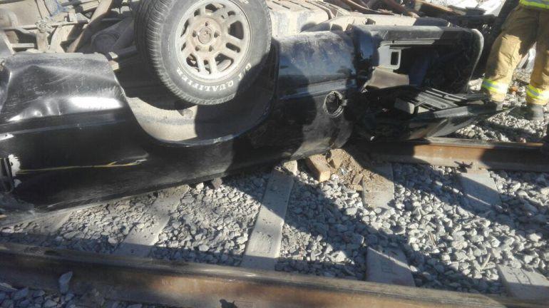 Al momento que llegó Bomberos y Cruz verde el conductor ya había fallecido