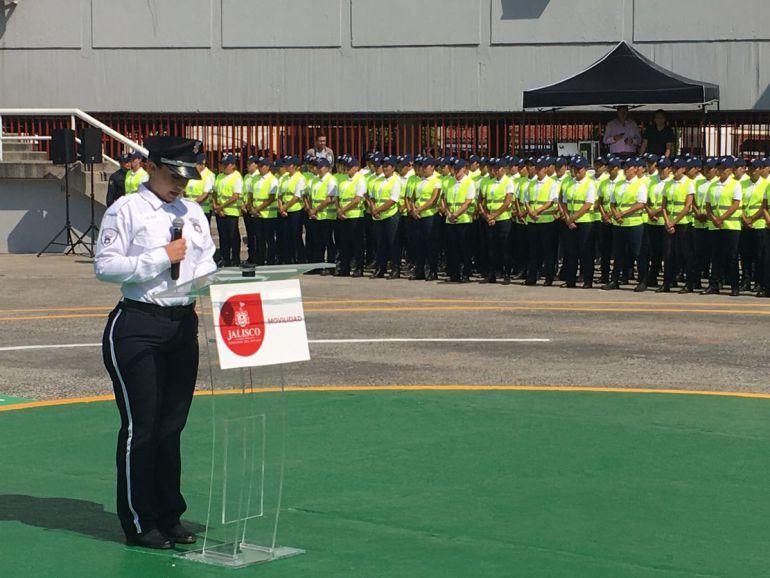 Aumenta el número de mujeres en la Policía Vial