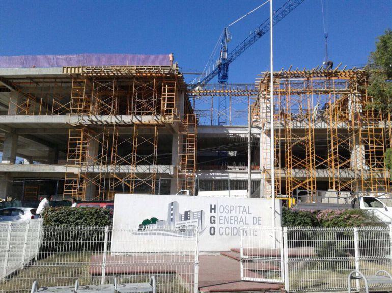 Al 50% la construcción del hospital geriátrico