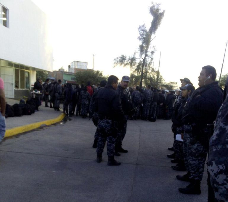 Por pagos incompletos, policías de la Fuerza Metropolitana se niegan a trabajar