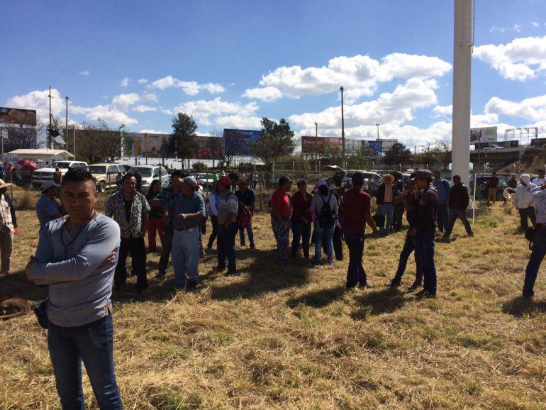 Ejidatarios de El Zapote toman 72 hectáreas del AIG, tras resolución judicial
