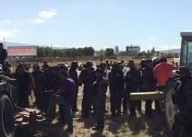 Continúan los detenidos los ejidatarios de El Zapote desalojados