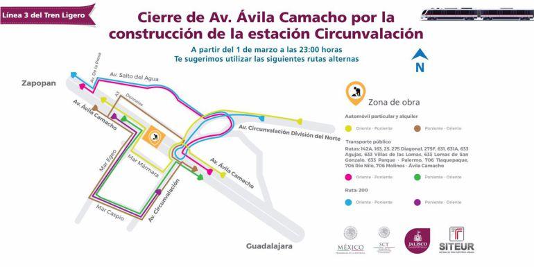 Suspenden cierre vial en Ávila Camacho