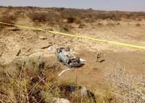 Volcadura de una camioneta deja tres muertos