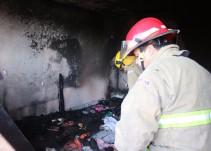 Investigan causas del incendio donde fallecieron hermanas