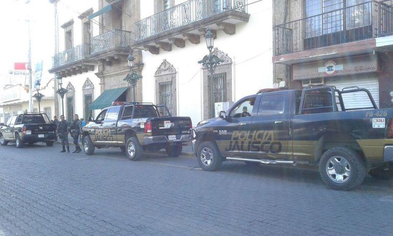 Desarme de policías en Ocotlán fue por recientes delitos