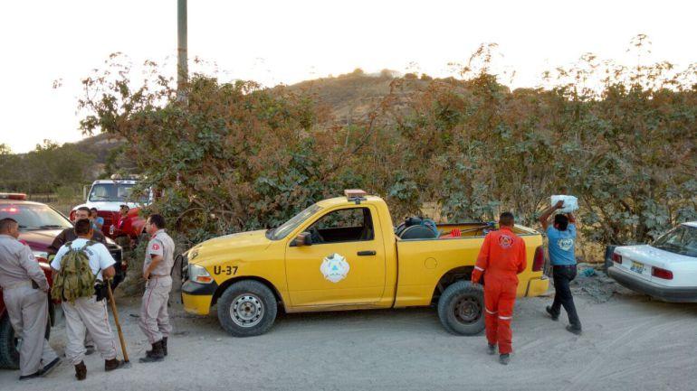 Se incendia el Cerro De La Campana y De la Cuchilla en Tlajomulco