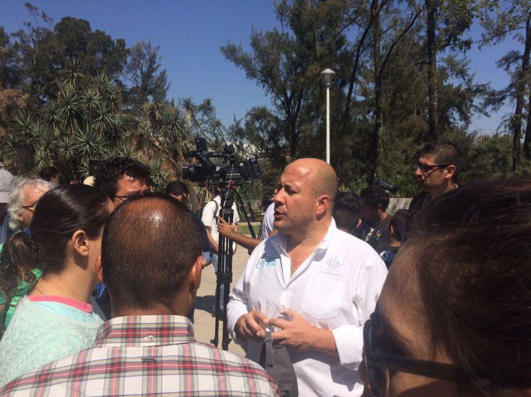 """Presentan remodelación del Parque Alcalde; Alfaro señala que con esto """"calla bocas"""""""