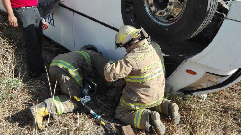 El incidente ocurrió en la carretera El Salto-La Capilla