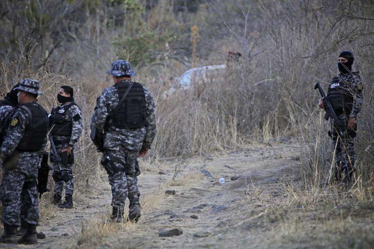 Identifican a cuatro sicarios abatidos en el enfrentamiento con la FUR