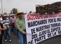 Asegura López Lara que buscan lo mejor para los ejidatarios de El Zapote