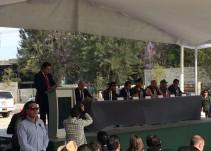 Inauguran repavimentación de av. Ramón Corona
