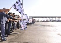 Dan banderazo de arranque a Operativo vacacional de semana Santa y Pascua