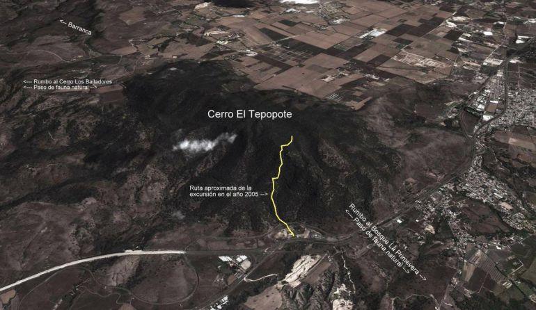 No podrán declarar cómo área natural protegida al cerro del Tepopote