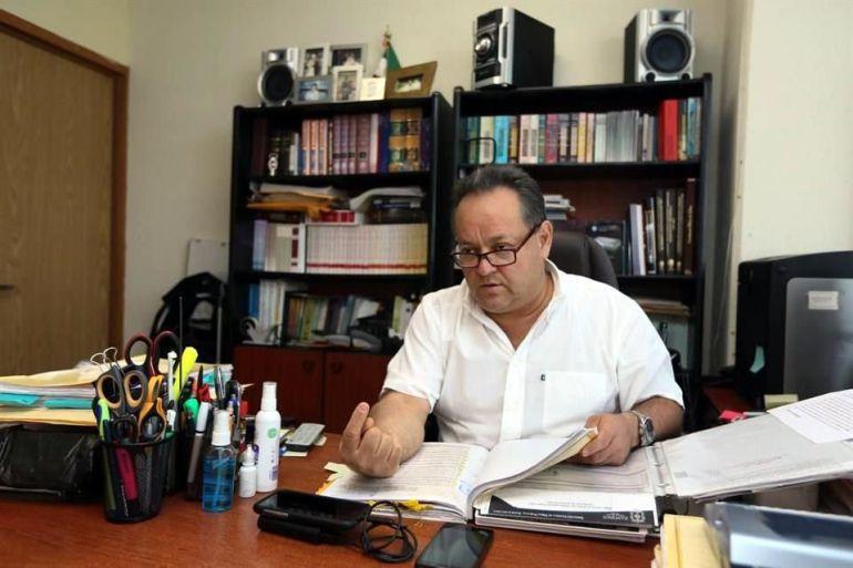 Conceden cuarta suspensión a favor de Alberto Barba