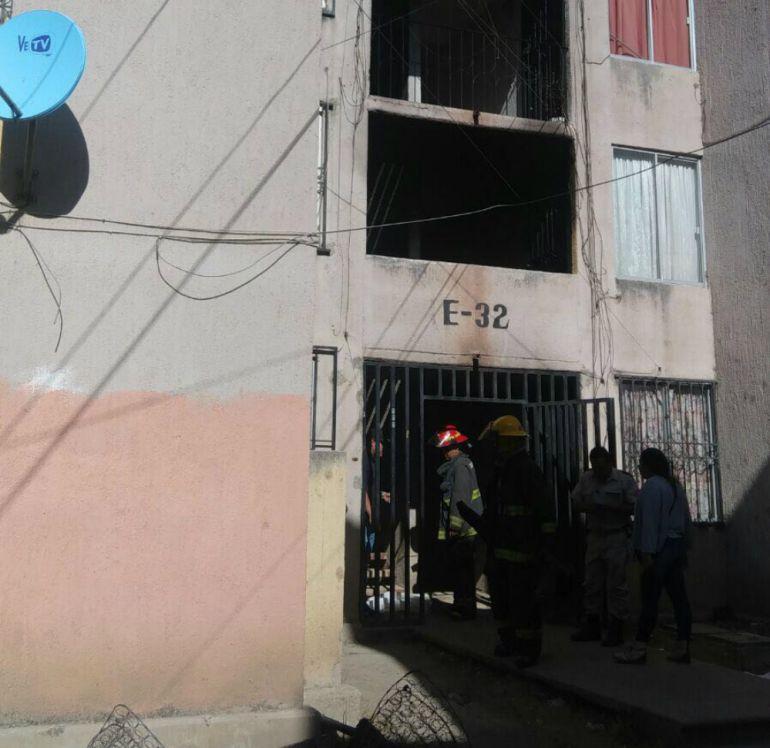 Bomberos de Guadalajara sofocaron el incendio
