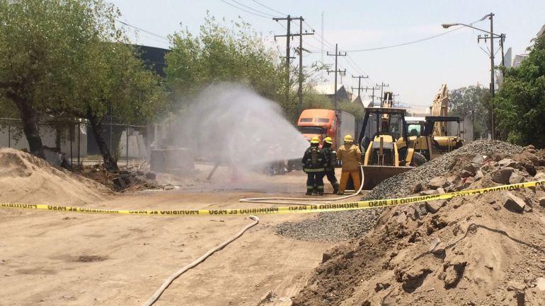 Fuga de gas provoca la evacuación de un edificio