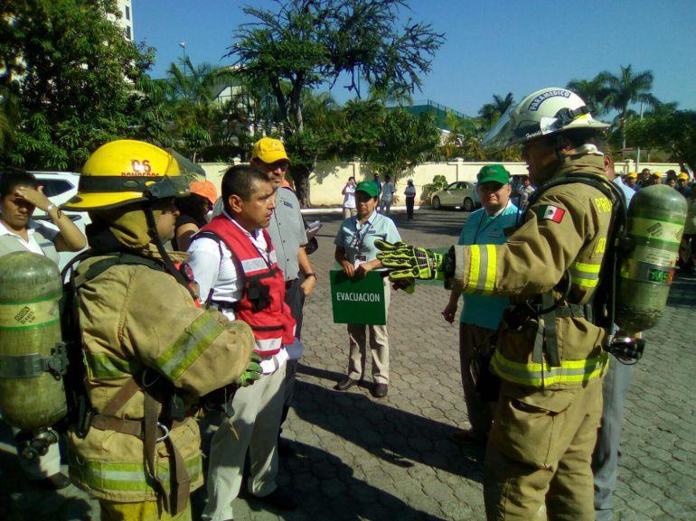 Los edificios fueron evacuados,la gente salió de manera ordenada: Trinidad López