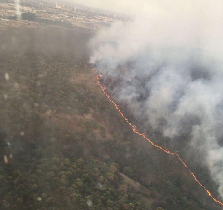 El objetivo es encontrar las causas que ocasionaron el incendio