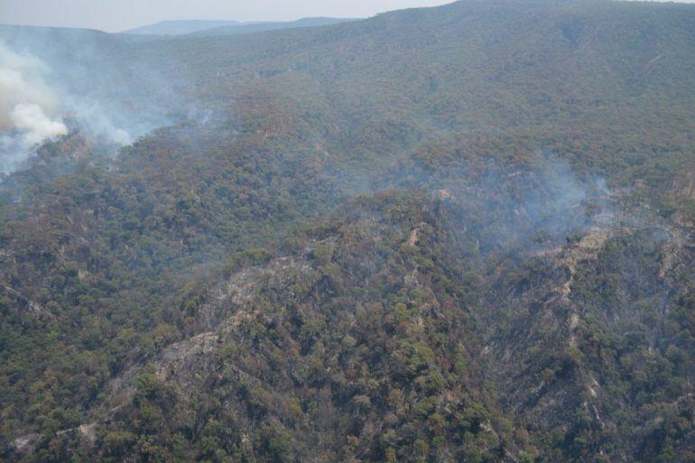 Recompensarán económicamente a quien revele información sobre los responsables de los incendios forestales