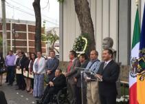 Montan guardia de honor en memoria del ex procurador Leobardo Larios