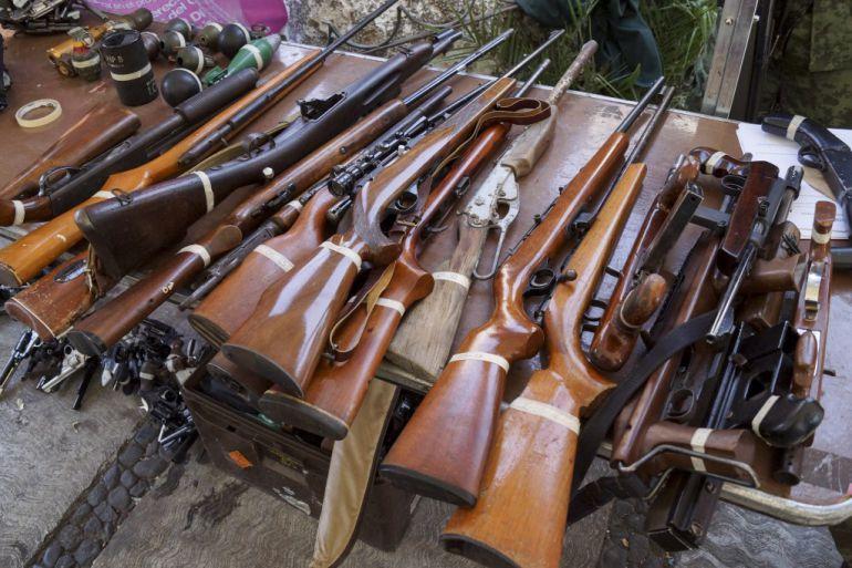 Presentan primeros resultados del programa de desarme en Jalisco